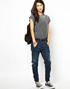 Image 4 ofDiesel Fayza Boyfriend Jeans
