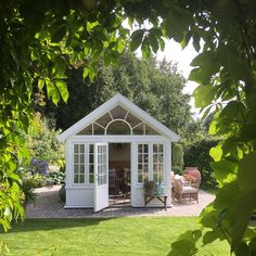 Backyard Sheds, Backyard Retreat, Outdoor Rooms, Outdoor Gardens, Craft Shed, Garden Stand, House On The Rock, She Sheds, Shed Design