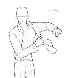 Drawing Body Poses, Body Reference Drawing, Drawing Reference Poses, Male Pose Reference, Body Sketches, Art Drawings Sketches Simple, Body Drawing Tutorial, Manga Poses, Sketch Poses