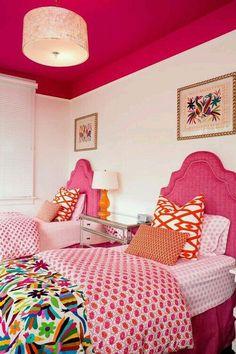 Plafond rose