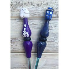 Doctor Who Tardis and Adipose 2 Piece Ergonomic by HookNClay