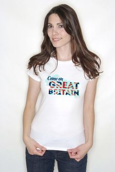 Support team GB T Shirt for Women