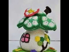 Aprende a tejer Cestas Crochet - YouTube