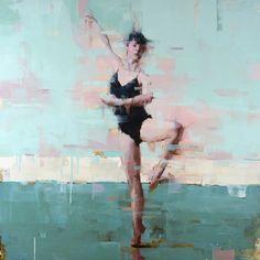 """Dancer No.7"" oil - Jacob Dhein"
