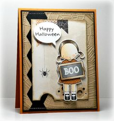 Boo!  by Joelysmom - Cards and Paper Crafts at Splitcoaststampers