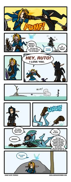 This is so true. The only way you can really defeat dark link is with the biggoron sword. Took me five seconds the first time and the. Ten minutes the second.  Water temple sucks.