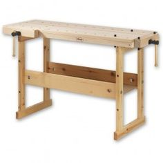 Sjobergs of Sweden have been manufacturing top quality workbenches for over 80 years. Built to last, these benches are made from home grown Scandinavian timber. Designed for the serious hobby user, they are perfect as a second or auxiliary bench in any wo