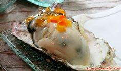 Taste of Okayama, Japan - Food, Fruits, Tourism | Sunshine Kelly http://www.sunshinekelly.com/2014/08/taste-of-okayama-japan-food-fruits-tourism.html  Okayama Oysters, Taste of Okayama, Japan - Food, Fruits, Tourism, White Peach, Pione Grape, Muscat Grape