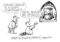 """Les dejamos ahora con nuestra caricatura:  """"Desde el oratorio"""""""