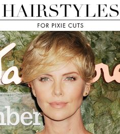 A pixie cut can be just as versatile as any cut.