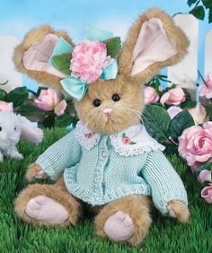 8d2050d579a Bearington Bonnie Bluebell Bunny The Bearington Collection is a  high-quality and truly affordable plush line loved by collectors worldwide.  Soft Toys ...