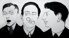 Salvador Dalí, René Magritte, Giorgio de Chirico. My surrealists <3