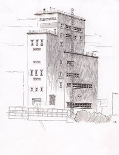 Inktober2016 #1 - Shotwell Tower   I honestly had no intention of doing Inktober until today. When I realised what date it was the thought of using steel dip pens and Winsor and Newton Series 7's really started to tug at me. Last year I totally flunked it by the way! so feel free to place bets on how many pictures I manage this time round..  I'm continuing with my quest to document buildings and sites around Hull and figured I could tie the two things together as a starting point. In this…