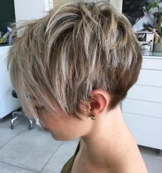 Awesome Short Haircut For Women Style Ideas - Page 53 of 54 - Lead Hairstyle. Awesome Short Haircut For Women Style Ideas - Page 53 of 54 - Lead Hairstyle. Awesome Short Haircut For Women Style Ideas - Page 53 of 54 - Lead Hairstyles Short Pixie Haircuts, Short Hairstyles For Women, Cool Hairstyles, Hairstyle Ideas, Hair Ideas, Layered Hairstyles, Short Hair Cuts For Women Pixie, Pixie Haircut For Thick Hair, Pixies For Thick Hair