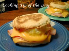Cooking Tip of the Day: Easy Breakfast Sandwiches