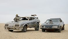 In order to create, you have to destroy.  Silver Interceptor, once the War Boys got there hands on it.