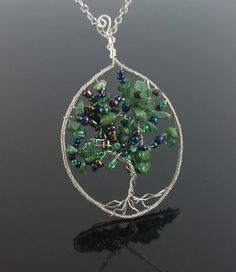 Tree of Life Necklace by JewelryByBlaise on Etsy