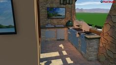 Enjoy a beautiful hardscaped backyard with a new pool or outdoor kitchen in Grand Blanc, MI by contacting Doyle Pools! Right Brain, Yard Games, Landscape Prints, 3d Design, Good Music, Outdoor Living, Swimming Pools, This Is Us, Diy Projects