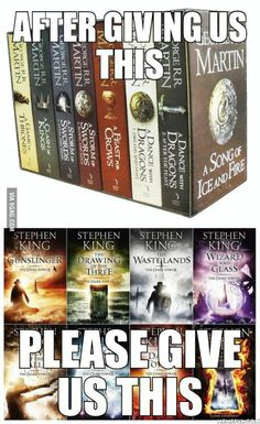 Please, please, HBO! Best Books To Read, Good Books, The Dark Tower Series, Literary Heroes, Avatar Legend Of Aang, Steven King, Stephen King Books, Dragon Dance, We Make Up