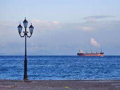 Seaside Promenade of Selinia Salamina #mysteriousgreece
