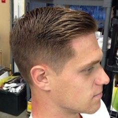 Short Comb Over