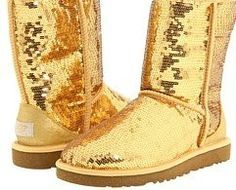 UGG Sparkle Boots are a glittery boots made by the Australian boot company UGG. The Sparkle boots have a sequined outer layer that reflects light,...