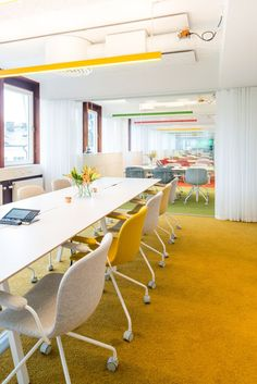 Trustly Headquarters – Stockholm | conference room | | meeting room | #meetingspace #design http://www.ironageoffice.com/