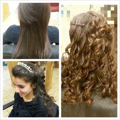 Sweet 15 soft curls