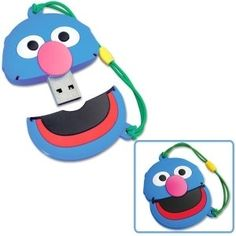 Happy Grover! | 27 Reasons To Use Flash Drives From Pinterest
