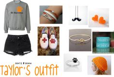 """""""Taylor's Ed Sheeran outfit"""" by torsdoddlove ❤ liked on Polyvore"""