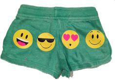 Vintage Havana Play Six Girls Emoji Green Camp Shorts Six Girl, Girl Emoji, Vintage Havana, Trunks, Gym Shorts Womens, Girl Outfits, Camping, Play, Green