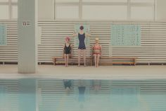Pastel Scenes At The Swimming Pool By Maria Svarbova – iGNANT.de