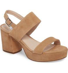 9b6e6907f876 Main Image - Steve Madden Reba Slingback Platform Sandal (Women) Strap  Sandals