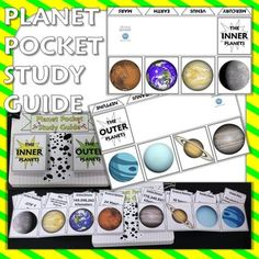 Science Journal: Planet Pocket Study Guide