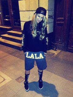 Pln Lala streetwear girl