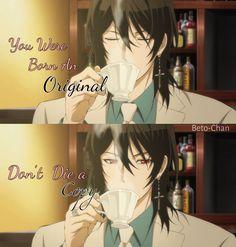Anime quote