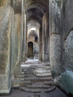 Piscina Mirabilis - Miseno (Roman cistern) - Bacoli