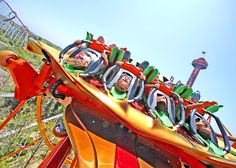 Fly at the speed of fear on Tatsu at Six Flags Magic Mountain. #SixFlags