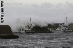 Causes Two Deaths In Japan - လာျပီ (Typhoon....) ေရွာင္မရ ေျပးမရ။
