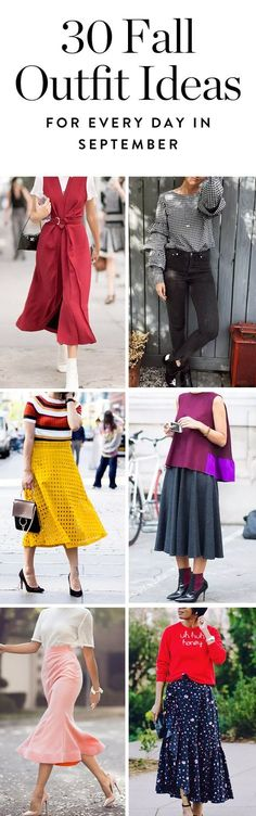 From bold red jumpsuits to all the ankle boots you can imagine, discover 30 amazing fall outfit ideas to wear every day in September.