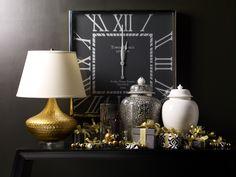 Festive gift table