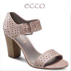 9e3e3f024 Ecco Pale Pink Stacked Heels Consejos De Moda