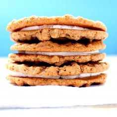Homemade Oatmeal Cream Pies.