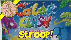 Color Clash, Match & Clash, The Stroop Effect!