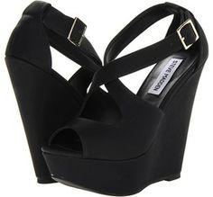 Steve Madden - Xternall (Black Smooth) - Footwear on shopstyle.com