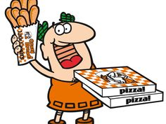 remember when they wouldn't sell you just one pizza, you had to buy two? pizza pizza!