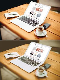 Free MacBook Air Mockup vol.2 (97 MB) | Graphic Twister
