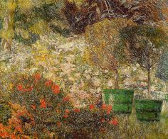 Emile Claus (September 27, 1849 – June 14, 1924) A Corner of My Garden 1901