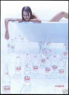 Evian Water Ad, 1999.