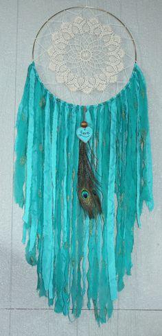 Bohemian Dreamcatcher extra large by florabellashop on Etsy, $65.00 Home Décor
